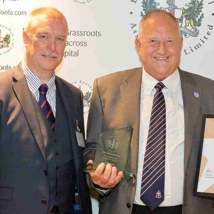 Stalwart Eede honoured at Wembley