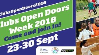 Open Doors Week 2018