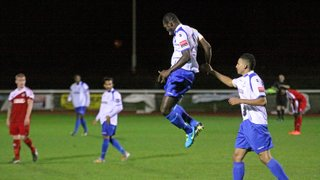 Enfield Town 1 North Greenford United 0 (21.10.2014)