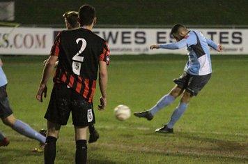 Arayn Tajbakhsh scores for Enfield
