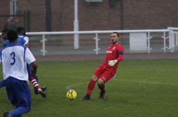 Enfield keeper and captain Nathan McDonald