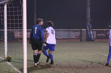 Harry Ottaway celebrates his late goal