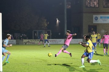 Enfield's Drew Roberts makes it 1-1