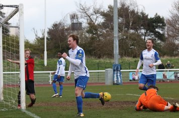 Aaron Greene wheels away after scoring the second goal