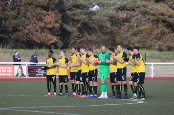 Before the game there was a minute's applause in memory of Enfield supporters Ron Hammans and Malcolm Philpott
