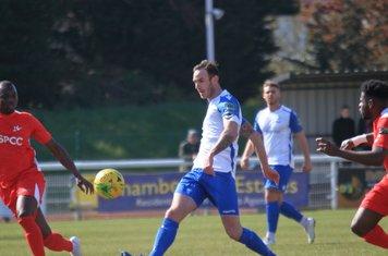 Matt Johnson passes to the wing