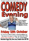Comedy Evening - Friday 12th October