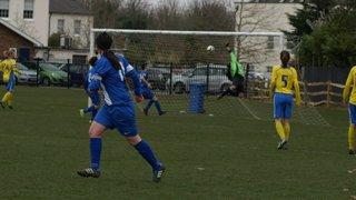 Parkwood Rangers v Herne Bay Ladies SECWFL Premier Division 22nd March 2015