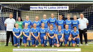 Sponsor a Herne Bay FC Ladies Match