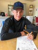 Ryan Hill signs!