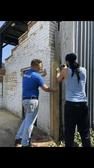 Community volunteers build new gates