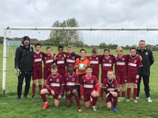 U12 Clarets take the honours in CYFL Premier Division