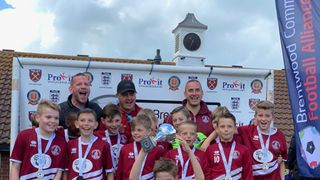 U11 Clarets win BCFAYL Divisional Cup