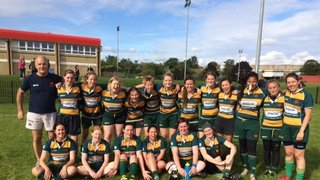 Barnes Ladies first game and win of the season