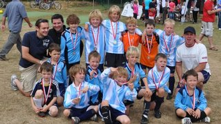 Fun at Whittlesford for the Mini-Strikers