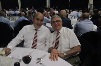 Dave McGovern & Paul Rouke at the Gala Dinner