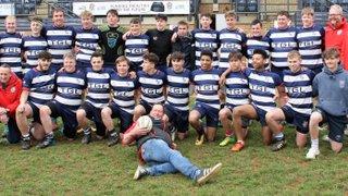 Banbury U16s Team photo (last regular match, an end of era)