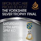 Ripon RUFC to host Final