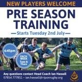 Pre-Season Training Starts
