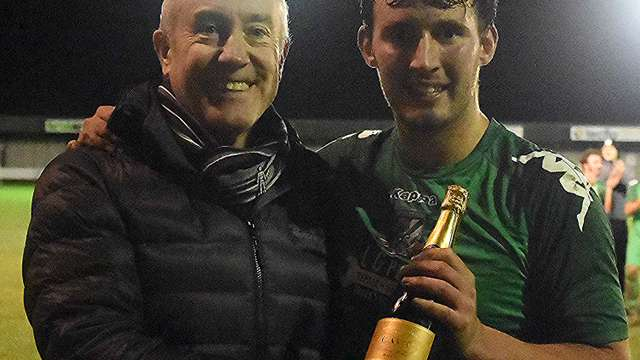 Ton Up for Lambo as Greens sink the Yachtsmen