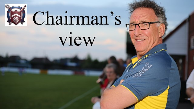 Chairman's Message - UPDATED May 27th