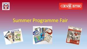 Summer Programme Fair