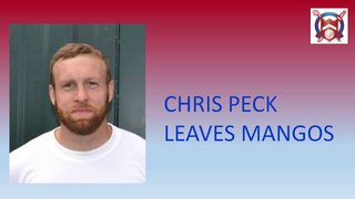 Chris Peck moves on