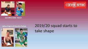 Squad takes shape