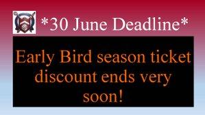 June 30th Deadline looms