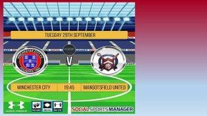 Winchester City....5    Mangotsfield United....1