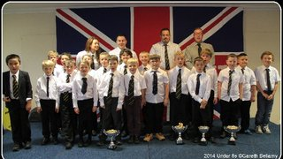 Under 8s Presentation Afternoon 11th May 2014.