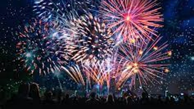 Chingford Rugby club firework display