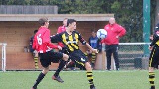 AFC Hornchurch U15's 0 v Harlow u15's 1 17/11/2013