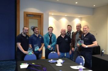 Our seven qualified SRU referees.