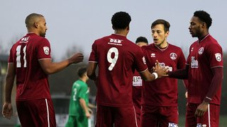 Clarets into 2nd Round After Early Jeffers Strike