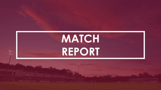 Clarets' unbeaten home record comes to an end