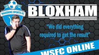 Bloxham Interview.....