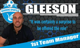 Mitch Gleeson - new first team manager
