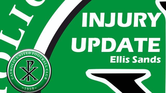 Sands Injury Update