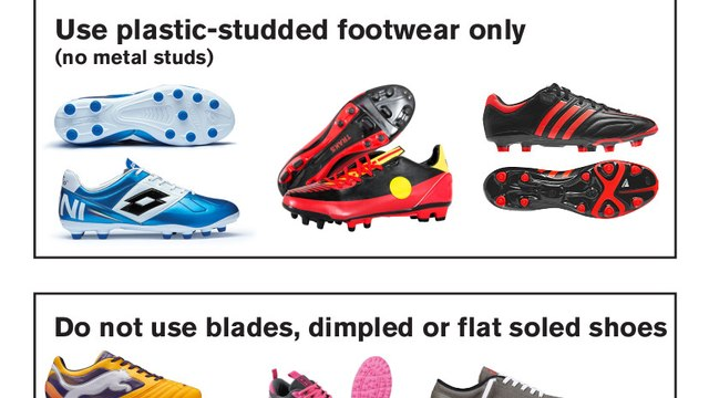 3G footwear guidelines