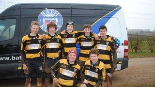 U15's Win a place in the Final of the Bath RFC 7's Tournament