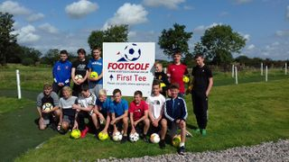 Falcons go to FootGolf