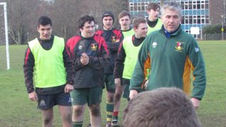 Colts' celebrity guest training 1 Feb 2015