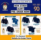 Pre-order OLS 90th Anniversary Stash Now!!