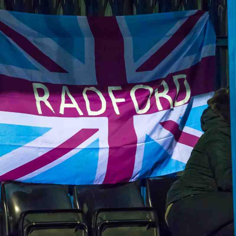 Radford vs Sherwood Colliery 12/1/19