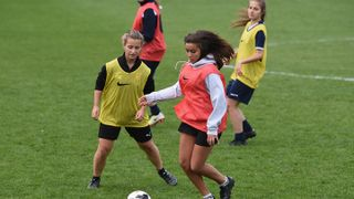 Bexhill United LFC target the next generation of female footballers after scoring funding from The FA