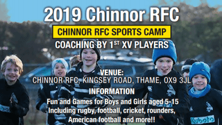 CRFC May Half Term Sports Camp