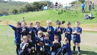 The Blues Under 7's Overcome Chichester in the Sussex Cup Final