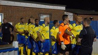 vs Maidenhead United B&B Cup 18/11/14