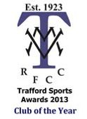 TODAYS RUGBY FOR TRAFFORD MV